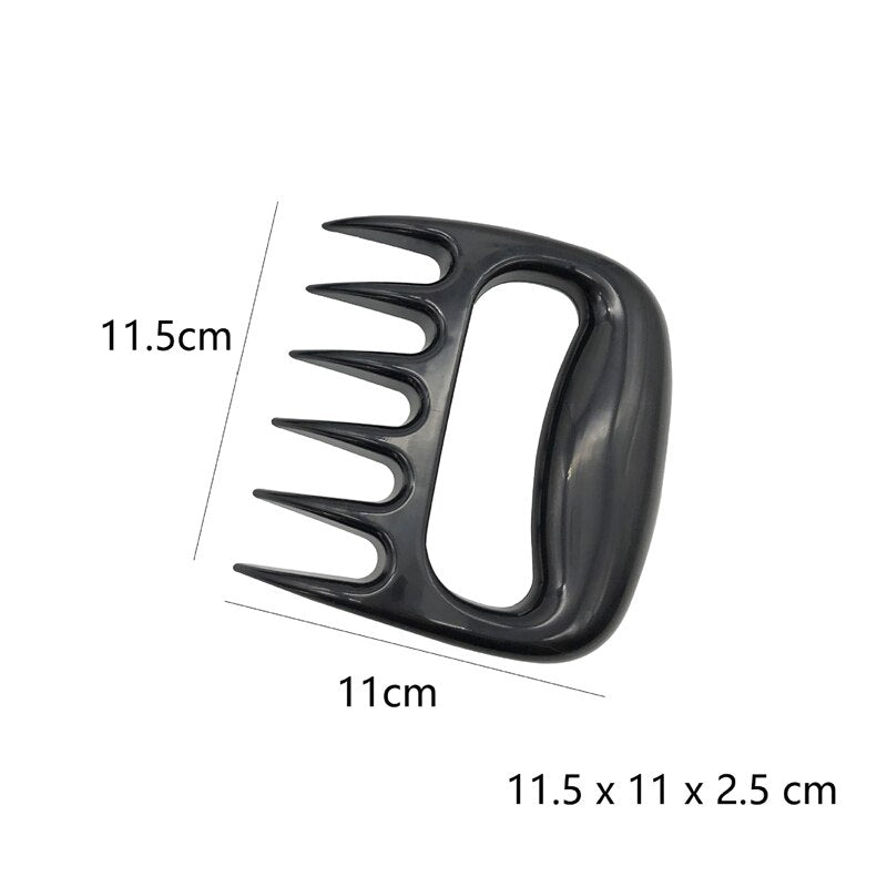 1pc Bear Claws Barbecue Fork Manual Pull Meat Shred Pork Clamp Roasting Kitchen BBQ Tools - JustgreenBox