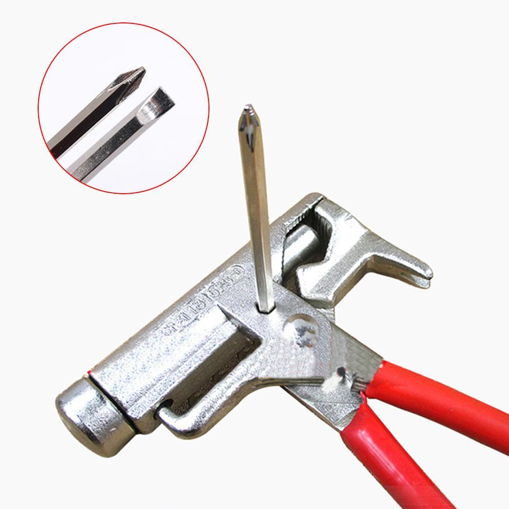 Stainless Steel Repair Multifunctional Hammer Screwdriver Wrench Hand For Car BikeTable Chair Maintenance All-In-One Tools - JustgreenBox