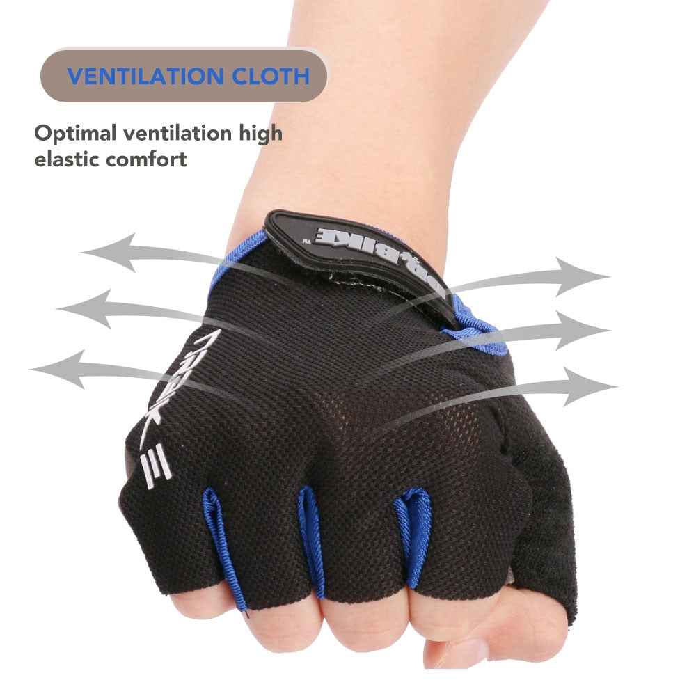 Half Finger Cycling Gloves with Absorbing Sweat Design for Men and Women Riding Outdoor Sports Accessories - JustgreenBox