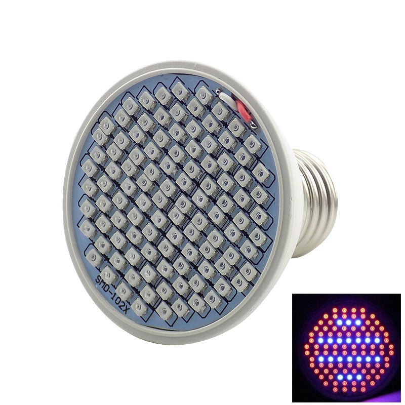 Full spectrum Plant Grow Led Light Bulbs Lamp lighting for Seeds hydro Flower Greenhouse Veg Indoor garden E27 phyto growbox - JustgreenBox