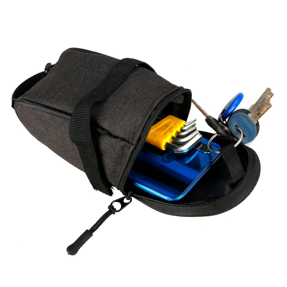Portable Waterproof Bike Saddle Cycling Seat Pouch Bicycle Tail Bags Rear Pannier Equipment