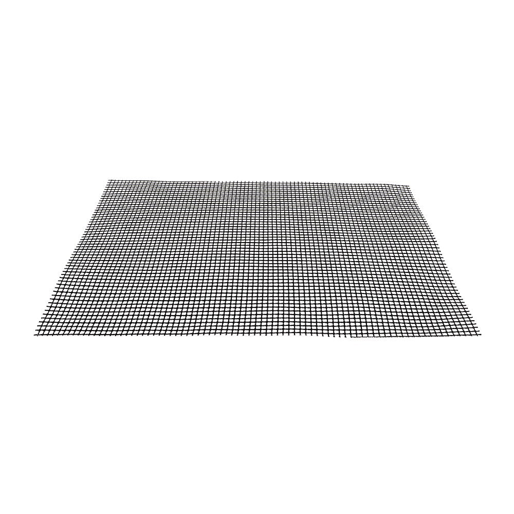 Roaster Barbecue Grid Grilling Mat High Temperature Resistance Steamer Pizza Black Non-stick - JustgreenBox