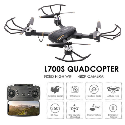 L700 Four-Axis RC Drone Aircraft Wide Angle RC Technological - JustgreenBox