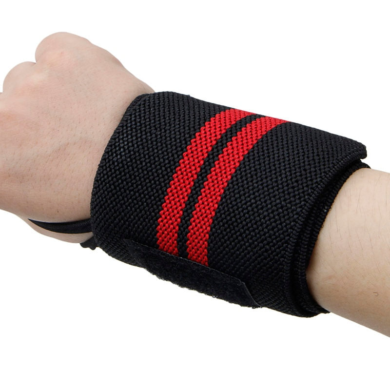 Weight Lifting Strap Fitness Gym Sport Wrist Wrap Bandage Hand Support Band - JustgreenBox