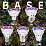 Phyto Led B22 Hydroponic Growth Light E27 Grow Bulb MR16 Full Spectrum 220V UV Lamp Plant E14 Flower Seedling Fitolamp - JustgreenBox