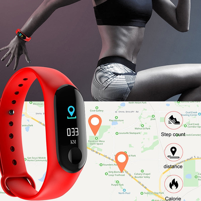 IOS Android Smart Watches, Fitness Tracker - JustgreenBox