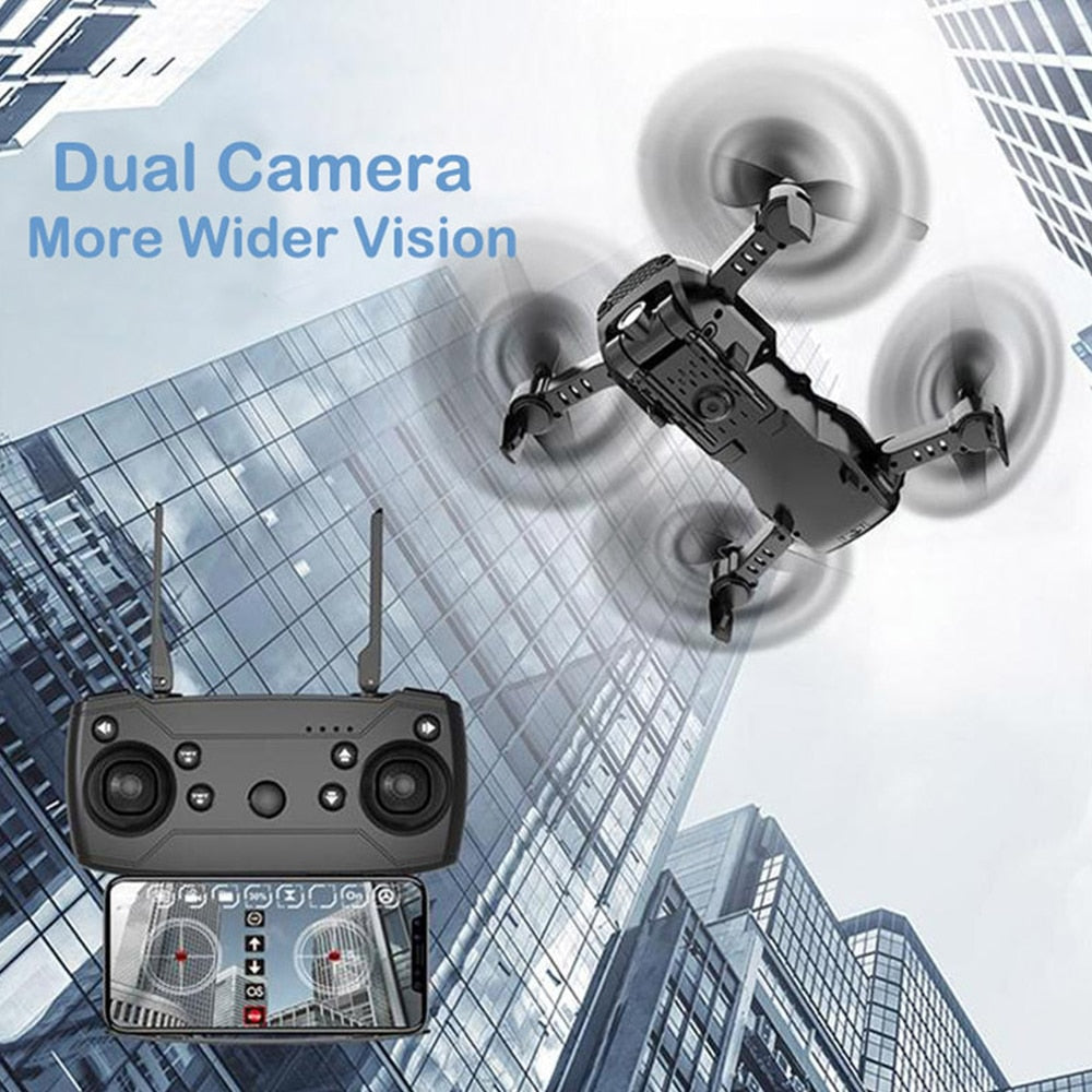 4K Camera Optical Flow Selfie Foldable RC Drone