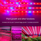Plant Grow lights 5m Waterproof Full Spectrum LED Strip Flower phyto lamp Red blue 4:1 for Greenhouse Hydroponic