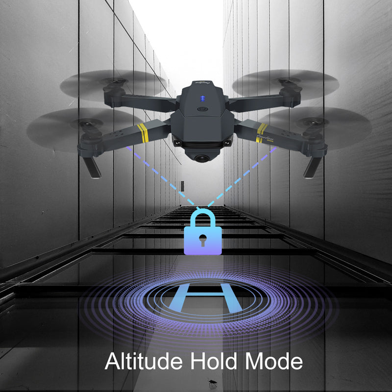 WIFI FPV With Wide Angle HD Camera High Hold Mode Foldable Arm RC Quadcopter Drone