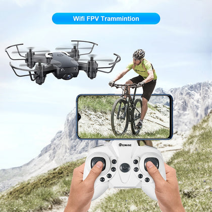 Mini Drone With/Without HD Camera Hight Hold Mode RC - JustgreenBox