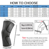 Elastic Nylon Sports Kneepad Fitness Gear Patella Brace Running Basketball Volleyball Support - JustgreenBox