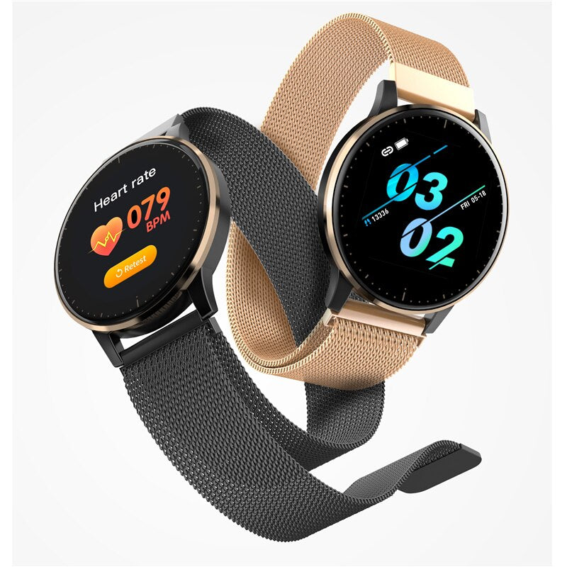 Smart Watch Women Heart Rate Blood Pressure Sleep Monitor Fashion Lady Bracelet Smartwatch Connect IOS Android - JustgreenBox