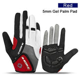 Full Finger Touch Screen Cycling MTB Bike Bicycle Gloves Sport Padded Outdoor Sess Accessories - JustgreenBox