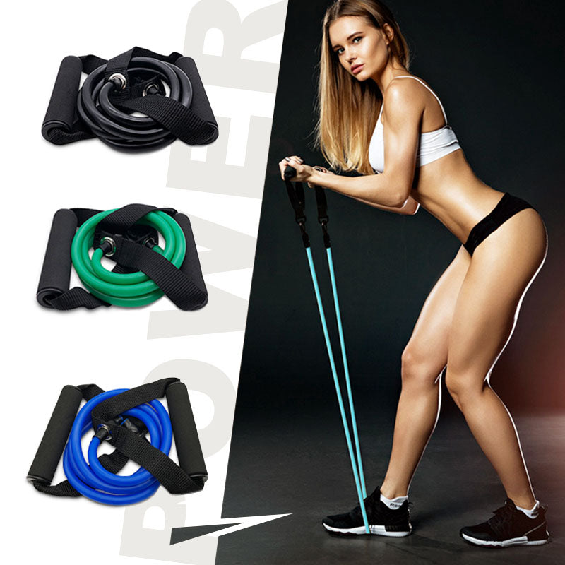 120cm Elastic Resistance Bands Yoga Pull Rope Fitness Workout Sports Rubber Tensile Expander Gum Elastica - JustgreenBox