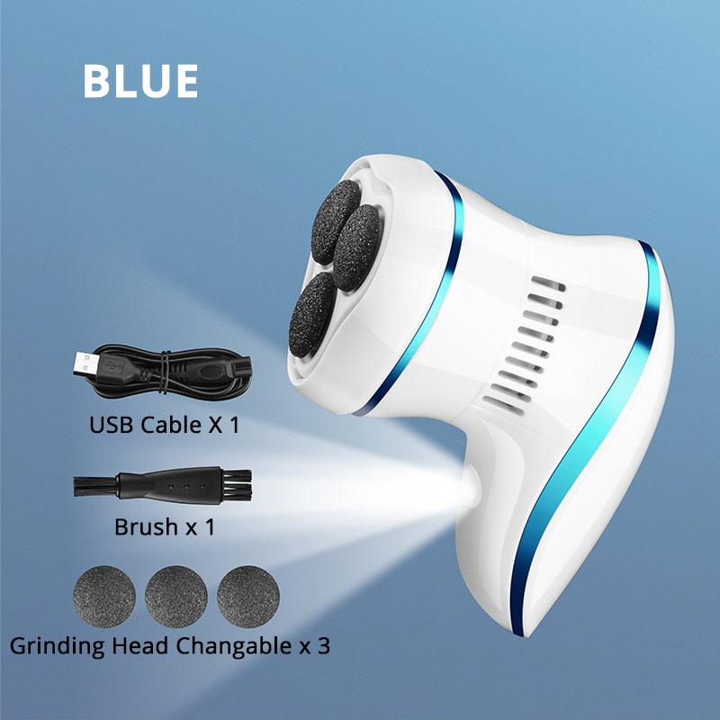Electric Pedicure Tool USB Charging Foot File Dead Skin Callus Remover Grinder Heel