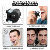 Jaw Training Device Face Muscle Ball Chewing Neck Exercise Face-lifting Artifact