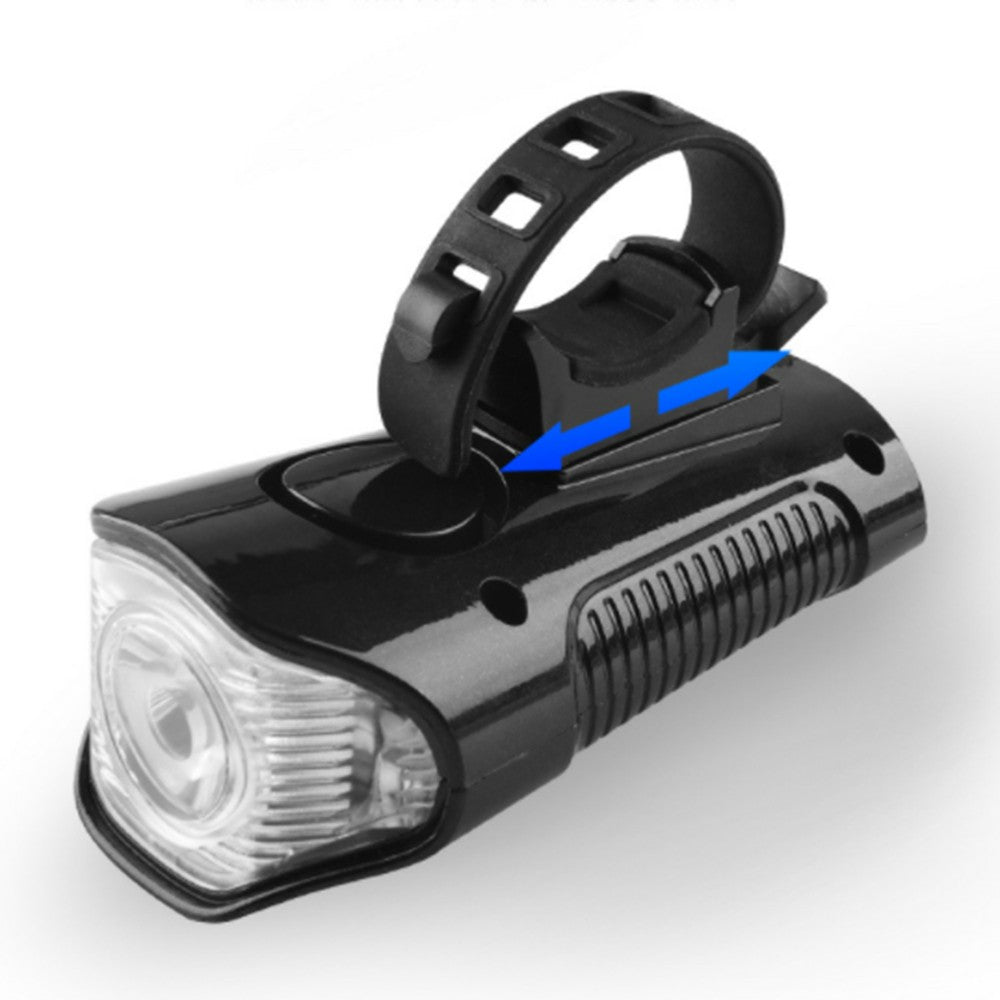 LED Bike Light Rechargeable Bike Tail Light and Front Light Set Cycle Headlight with Bicycle Speedometer Odometer
