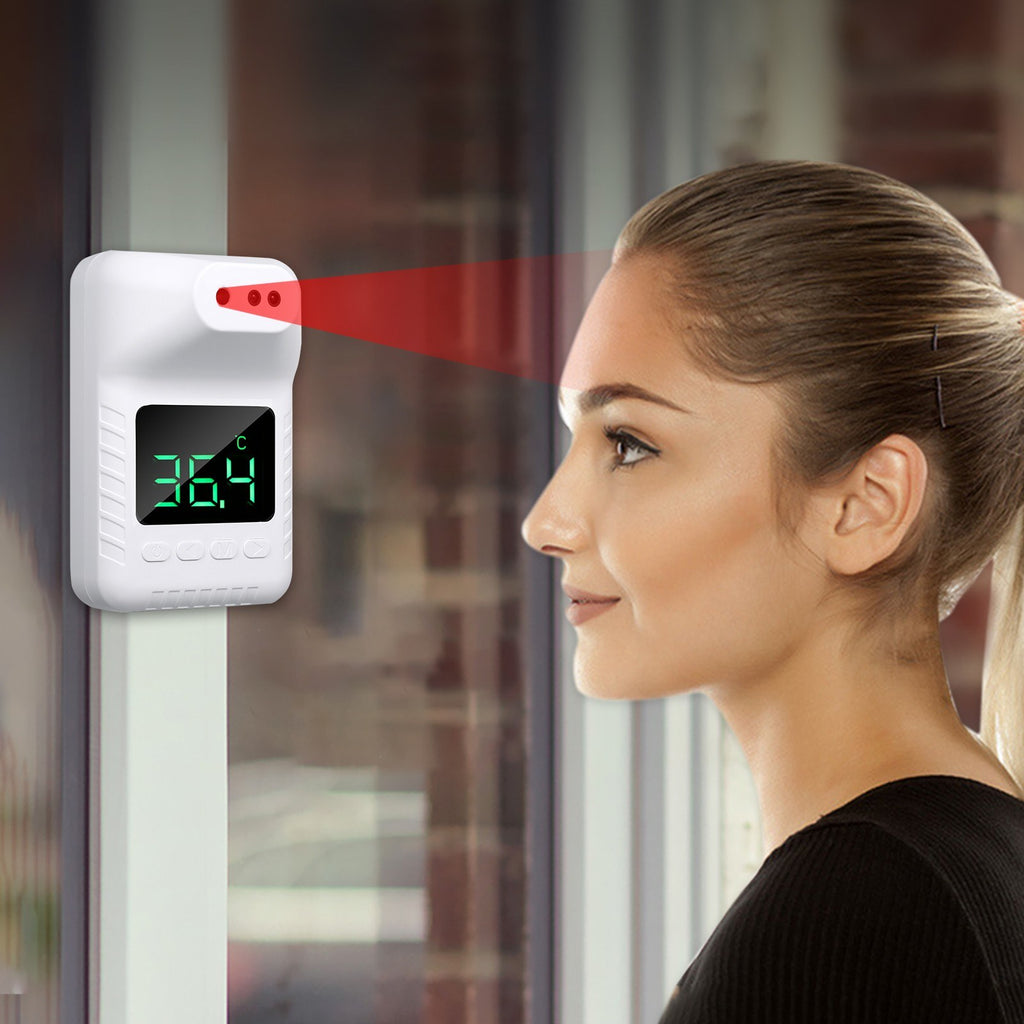 Non-contact Infrared Thermometer Wall-Mounted Automatic Forehead Thermometers