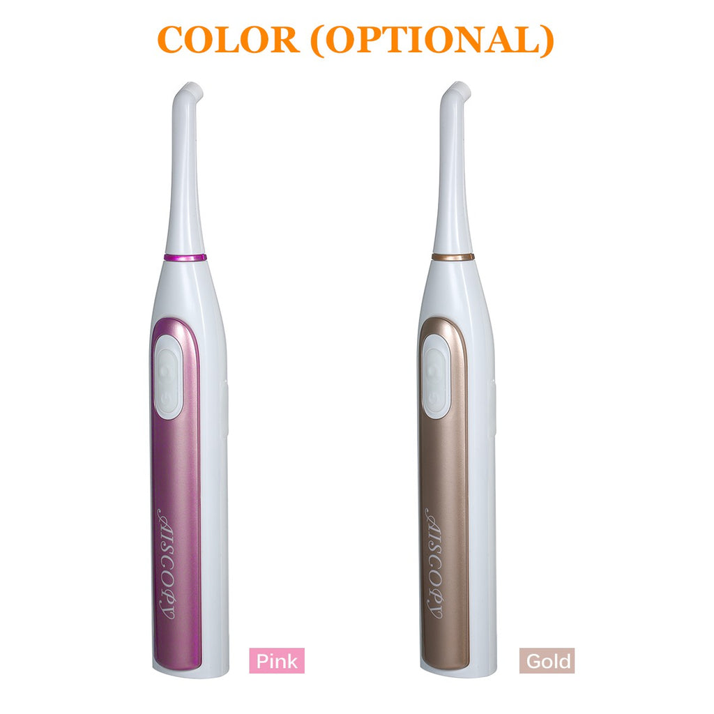 WiFi Dental Intraoral Camera with App Cordless USB Rechargeable Oral Cavity Endoscope Dental Mirror with Light
