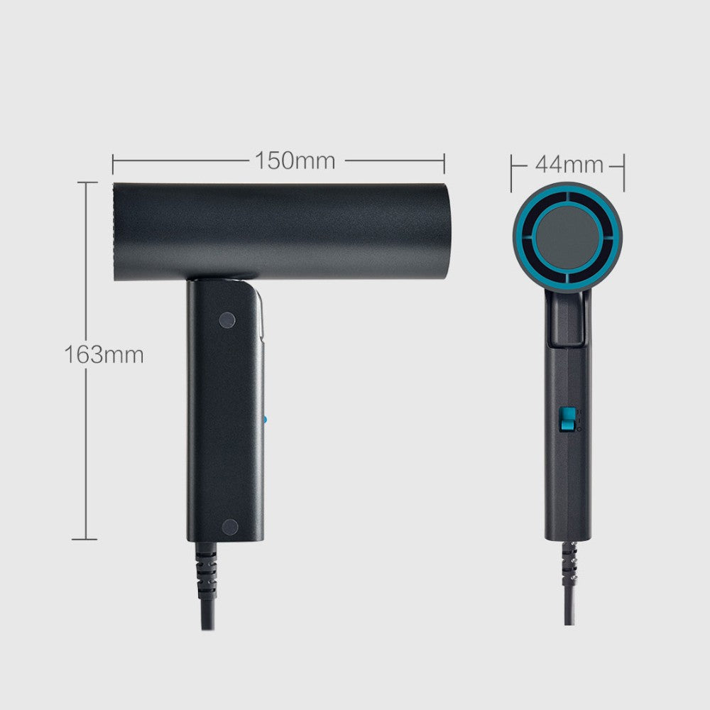 Mini Hair Dryer 550W Professional Hairdryer Quick Dry Portable Folding Handle Hairdressing Barber Blower