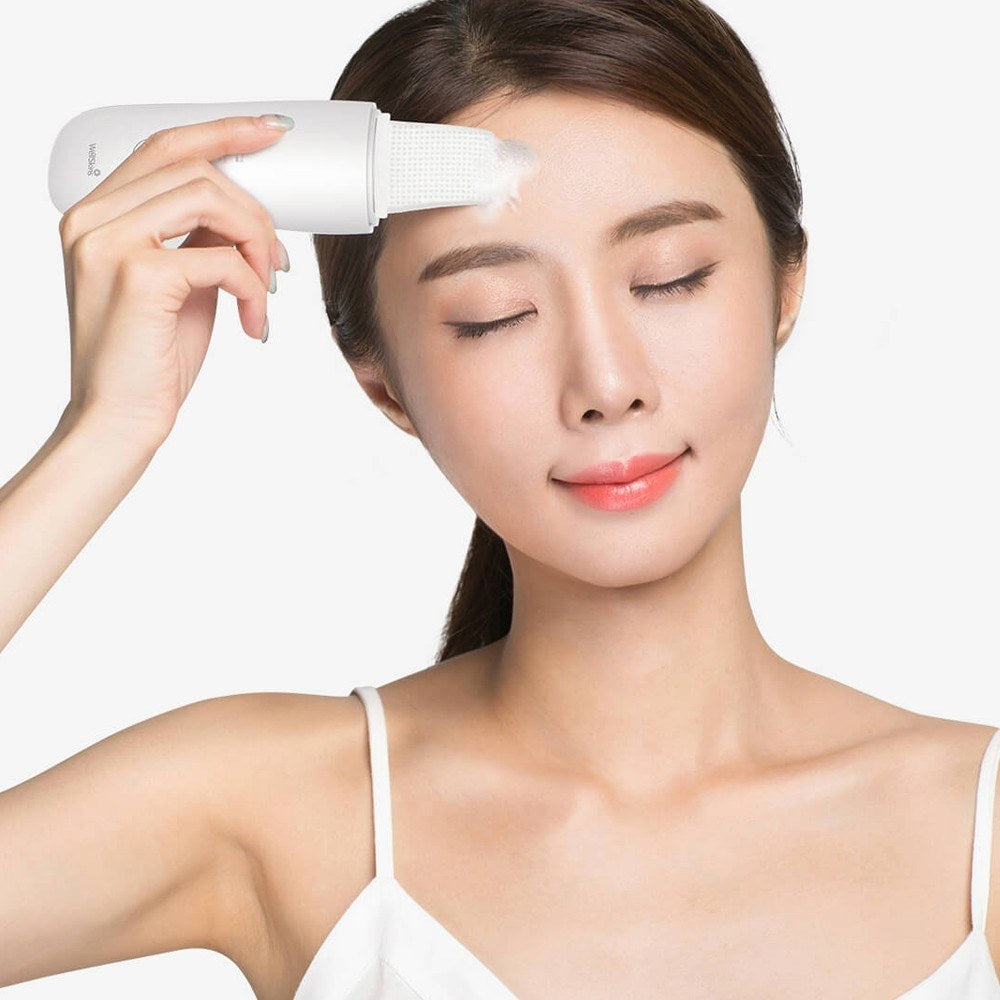 Ultrasonic Facial Scrubber Deep Cleansing Exfoliating Skin Care Equipment