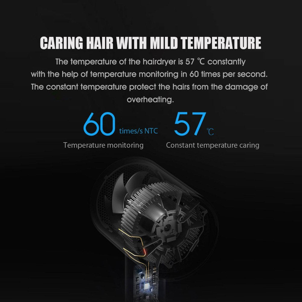 Hair dryer H300 Constant Temperature 1600W Electric Dryer 220V Professional Quick Dryer Home Portable Hair Care Tool