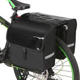 28L Water Resistant Bicycle Rear Seat Carrier Bag Rack Trunk Bags Bike Commuter Bag Pannier