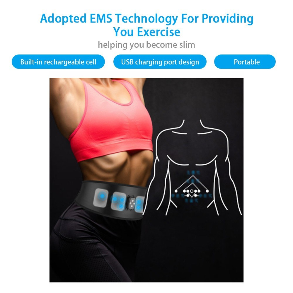 Intelligent Massage Keep Fit Waist Band Belt Gridle