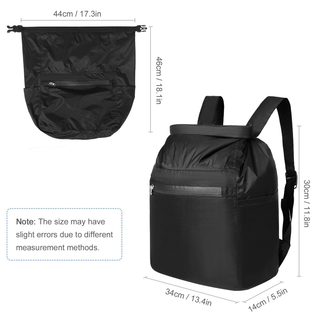 Ultralight Foldable Waterproof Dry Bag Backpack for Outdoor Sports Beach Camping Hiking Kayaking Boating Fishing Traveling