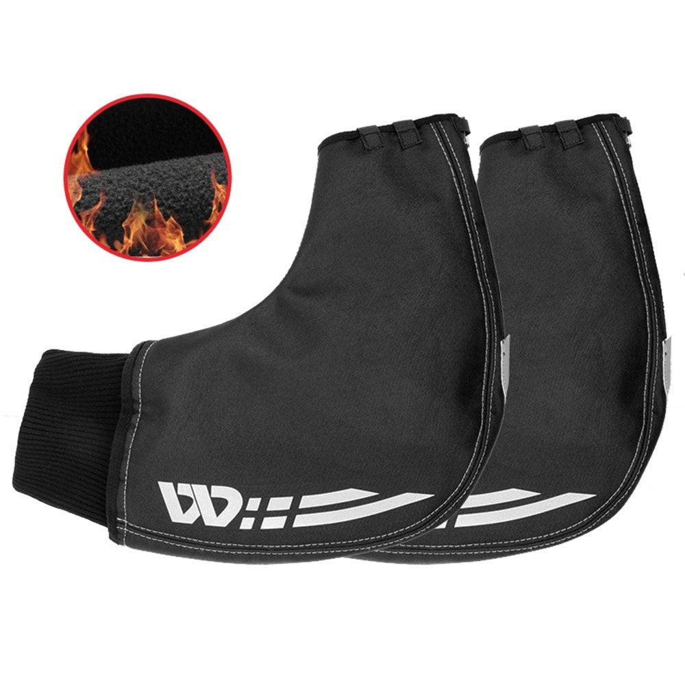 1 Pair of Bicycle Handlebar Warm Gloves Windproof Motorcycle Mittens Cold Weather Hand Warmers for Road MTB Commuter Bikes Water Resistant Bar Gloves