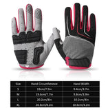 Outdoor Bicycle Gloves Breathable Cycling Gloves Anti-slip Sports Gloves Motorcycle Anti-shock Gloves