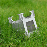 Portable Stainless Steel Wood Stove Lightweight Folding Camping Stove