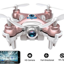 Mini 6-axis Gyro Rc Quadcopter Headless Mode Remote Control Drone With Camera - JustgreenBox