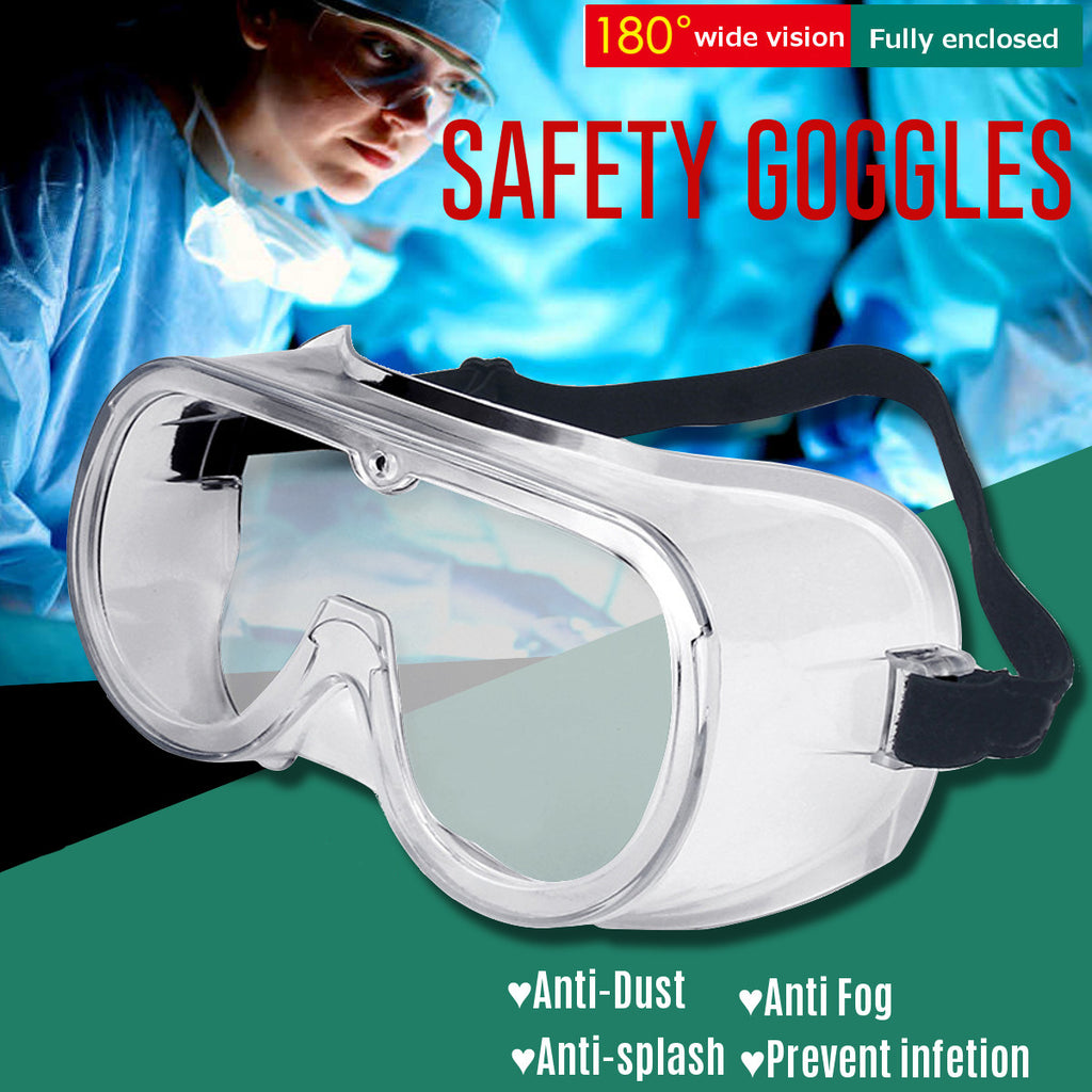 Transparent Protective Glasses Safety Goggles