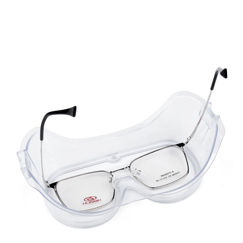 Transparent Protective Glasses Safety Goggles - JustgreenBox