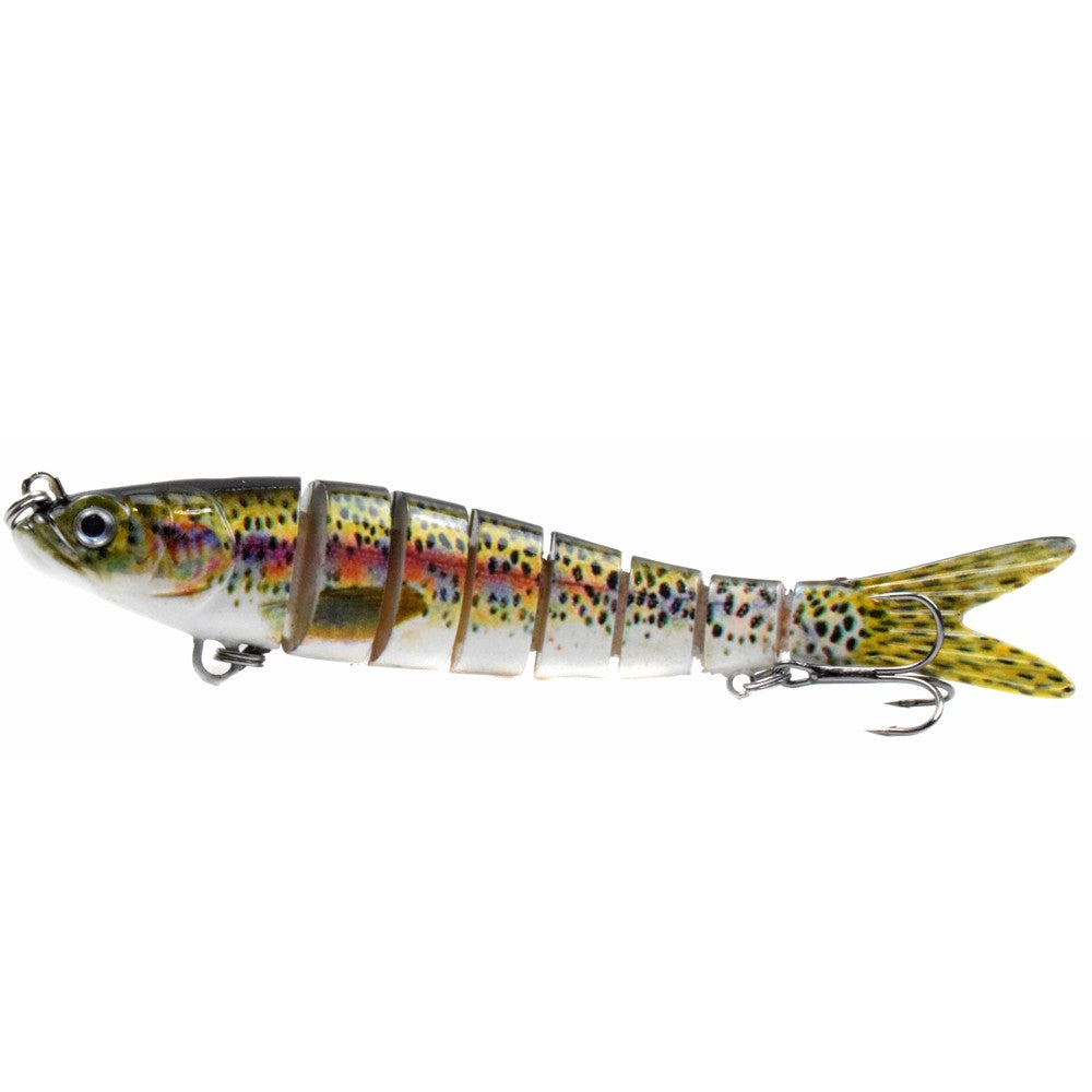 5.5in / 0.92oz Bionic Multi Jointed Hard Bait S Swimming Action Fishing Lure
