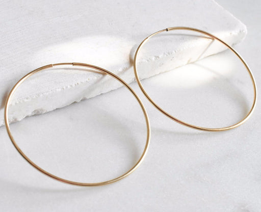 Large Aria Hoops