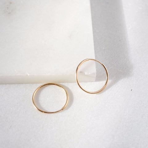 Jessa Medium Hoops