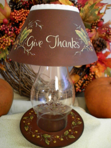 Fall Hurricane Lamp e-packet by Sharon Shannon