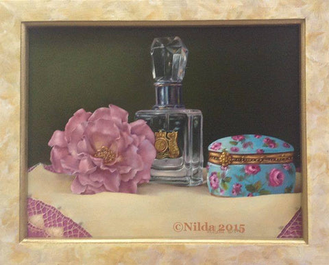 Rose Fragrance Online Class by Nilda