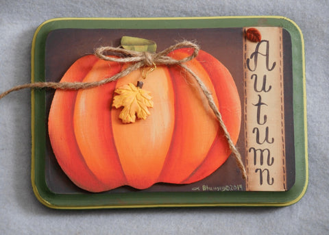 Autumn Acrylics e-packet by Barbara Bunsey