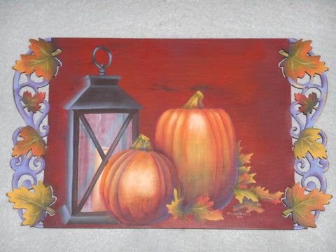 Autumn Leaves Acrylics e-packet by Barbara Bunsey