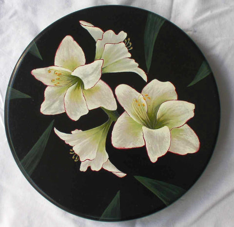 Board with Lilies e-Packet by Mabel Blanco