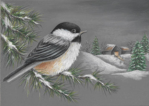 Chickadee Watch  e-packet by Sharon Shannon