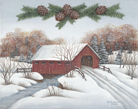 Covered Bridge acrylics e-packet by Donna Hodson