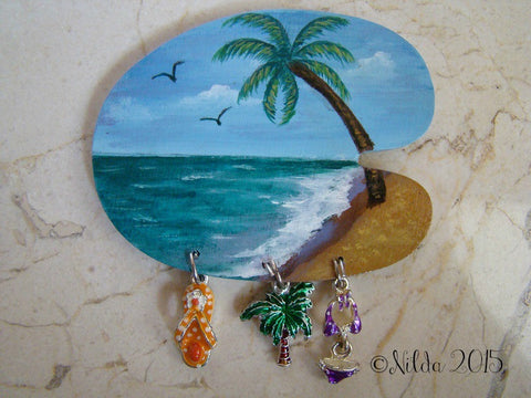 Beach Palette Pin