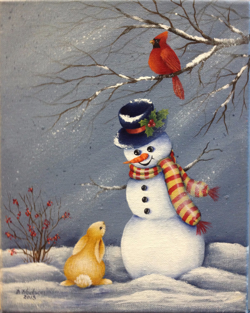 Frosty Snowman e-packet by Donna Hodson