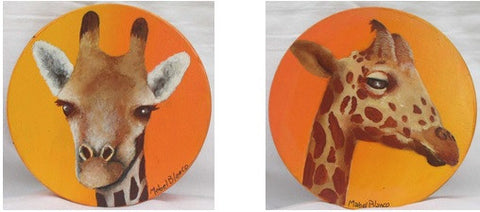 Two Giraffes e-Packet by Mabel Blanco