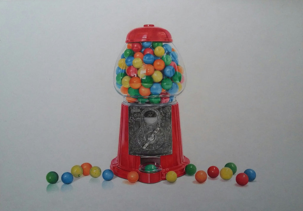 Gumballs Colored Pencils Tutorial