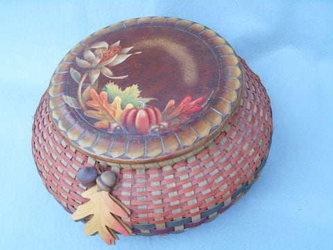 Harvest Basket Acrylics e-packet by Barbara Bunsey